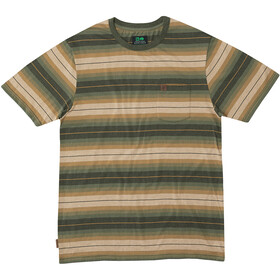 Hippy Tree Cold Creek Knit T-Shirt Men heather army